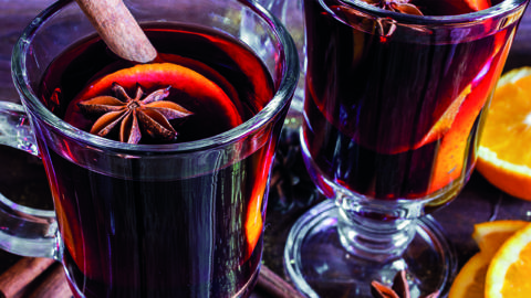 Mulled Wine With A Twist