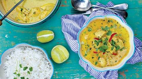 Amy's Chicken and Coconut Milk Curry