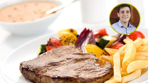 Craig and Mairead - Craig's Steak with Peppercorn Sauce