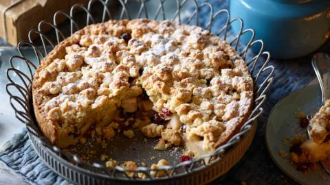 Pear and Hazelnut Sprinkles with Cranberries