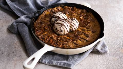 S'more Skillet Cookie