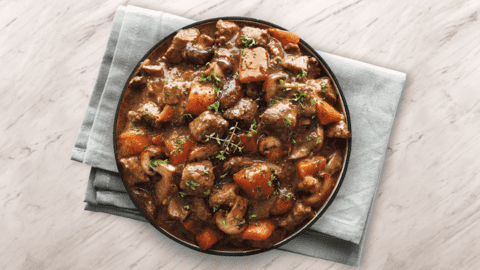 Hearty Beef Steak and Guinness Stew