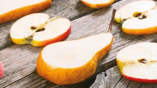 Pear & Apple Fruit Salad