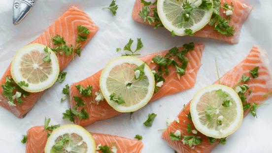 Lemon Baked Salmon