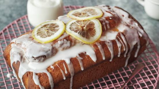 Lemon and Yoghurt Drizzle Cake