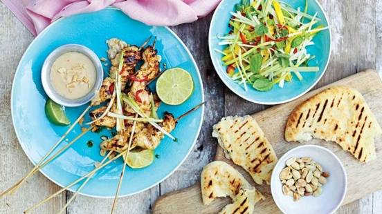 Turkey Breast Satay
