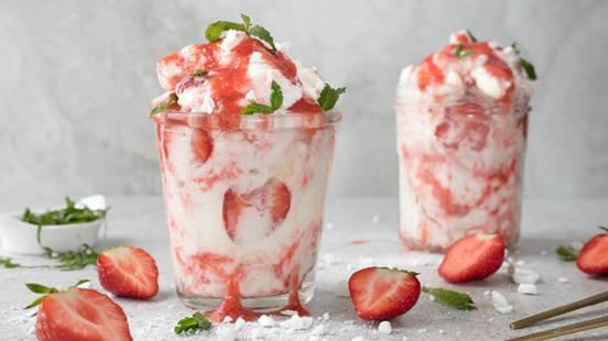 Strawberry Eton Mess