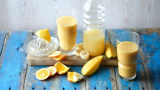 Mango-Banana Orange Smoothie