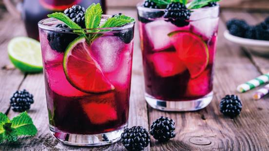 Very Berry Gin Cocktail