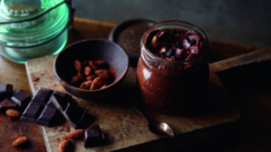 Chocolate Spread with Cherries