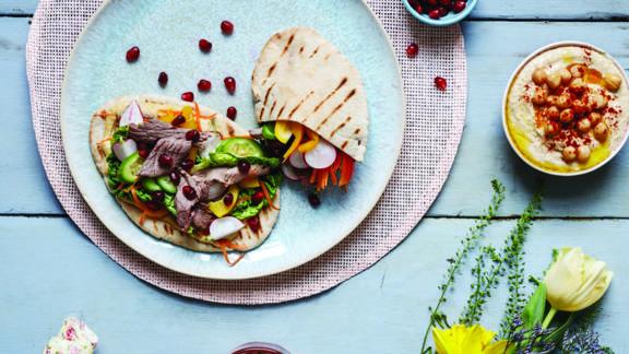 Mediterranean Lamb Feast