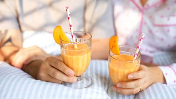 Kaki Fruit Smoothie