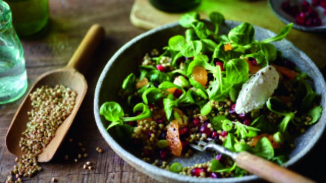 Seeded Winter Salad