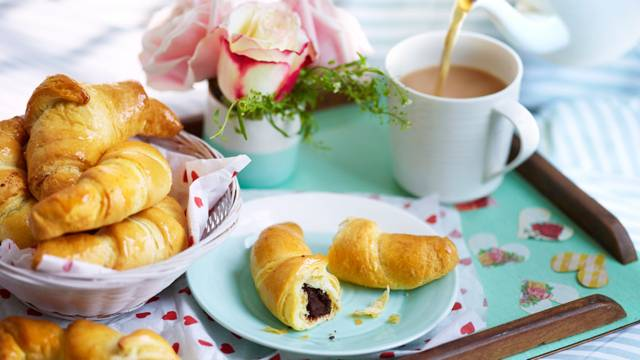 Chocolate and Cinnamon Croissants