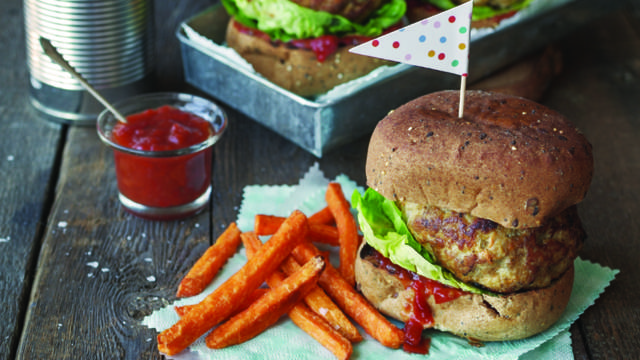 Oven Baked Gluten Free Burgers