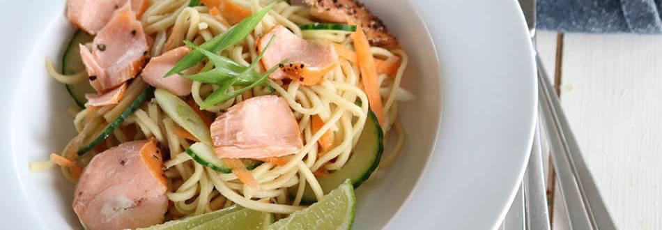 Salmon-Noodles