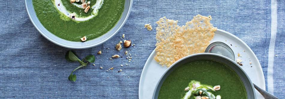 Spinach and Celeriac Soup