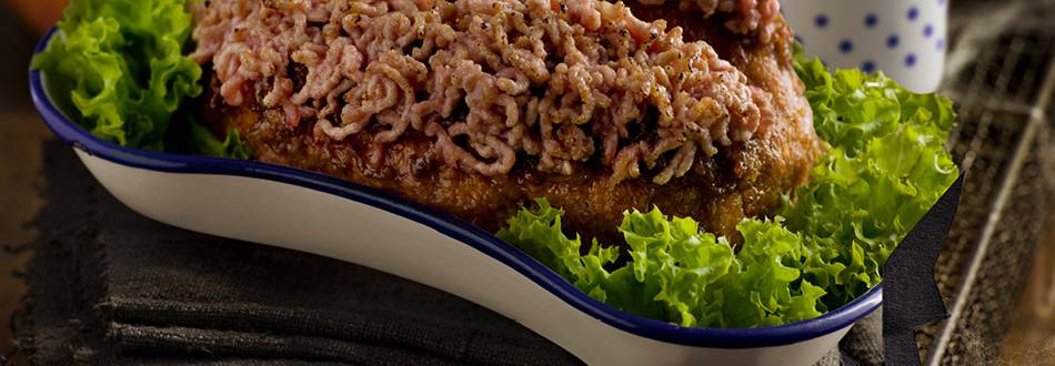 Brain (Meatloaf with Tomato Cream)