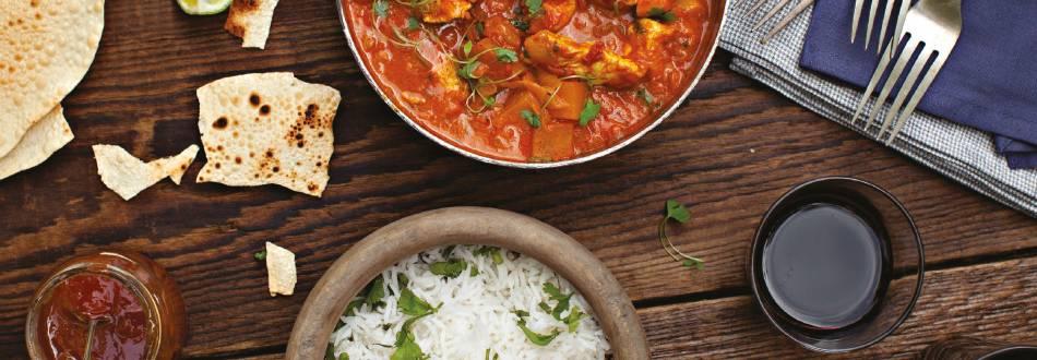 Chicken & Turnip Curry