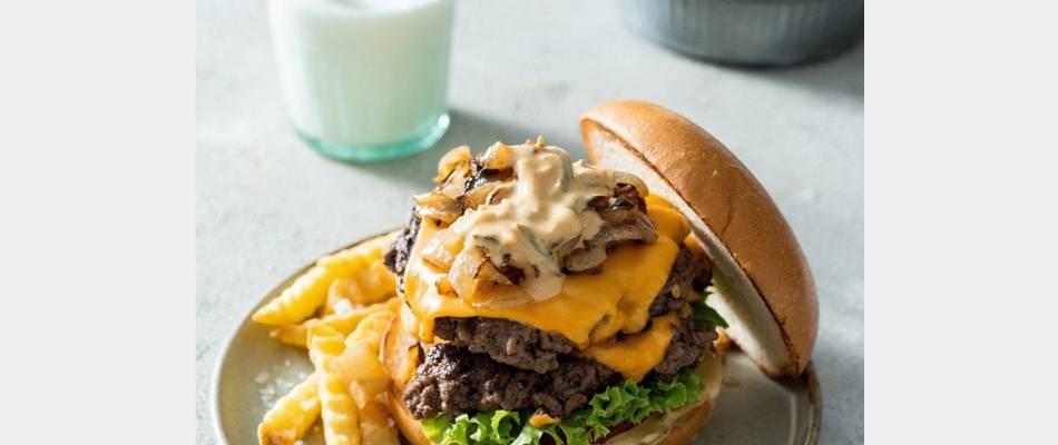 Sizzlin' Beef Burger